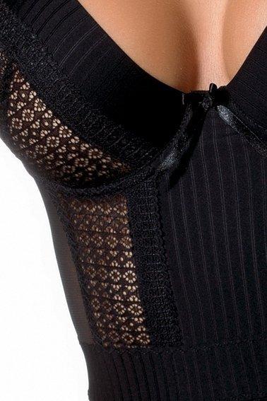 HARRIET CHEMISE czarna koszulka nocna
