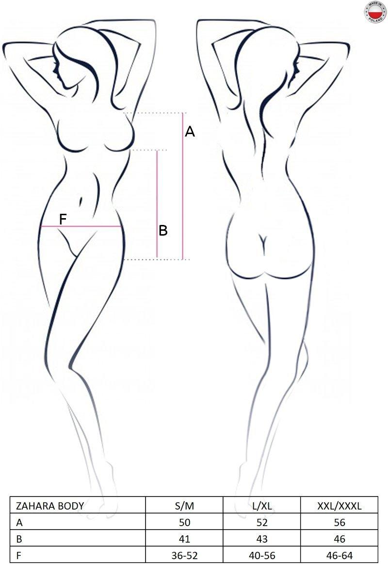 ZAHARA BODY czarne body