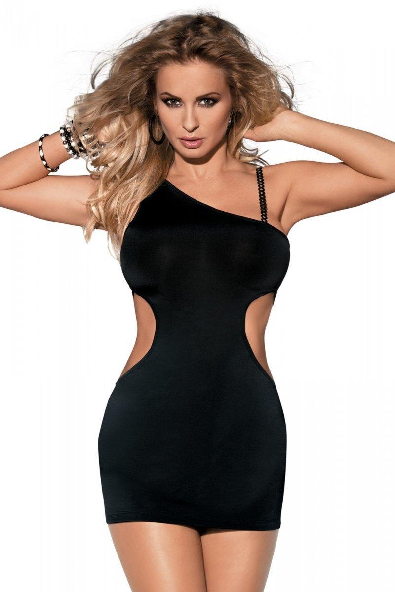 SKARLET DRESS czarna sukienka nocna