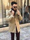 Trench beige - Paul Miranda - Cappotto cammello - Gogolfun.it