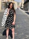 Donna - Abitino corto - Abito bianco e nero - Shop Gogolfun.it
