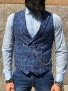Gilet uomo blu - Abbigliamento uomo - Shop Gogolfun.it