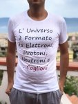 T shirt universo