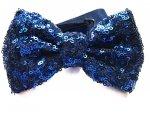 Papillon - Di paillettes - Blu cobalto