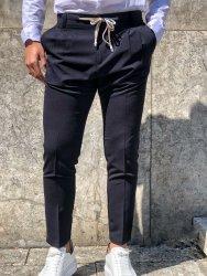Pantaloni uomo Elegante - Blu - Gean Luc Paris