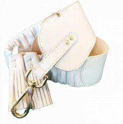 Cintura bianca - Roberta Biagi - Cinturone largo