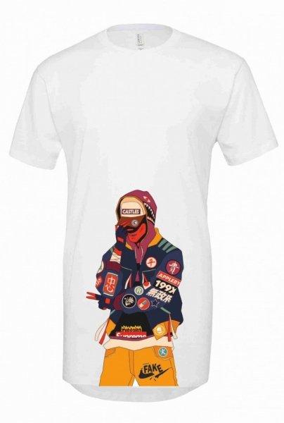 T shirt lunga - Rapper - Gogolfun.it