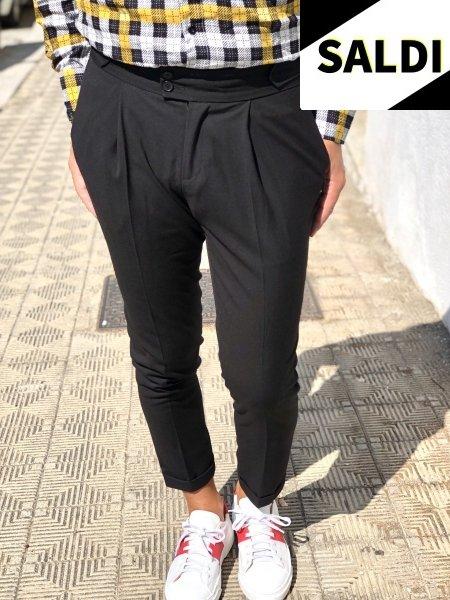 Camicia a quadri - Slim - Primaverile -  Nera e gialla - Abbigliamento online - Gogolfun.it
