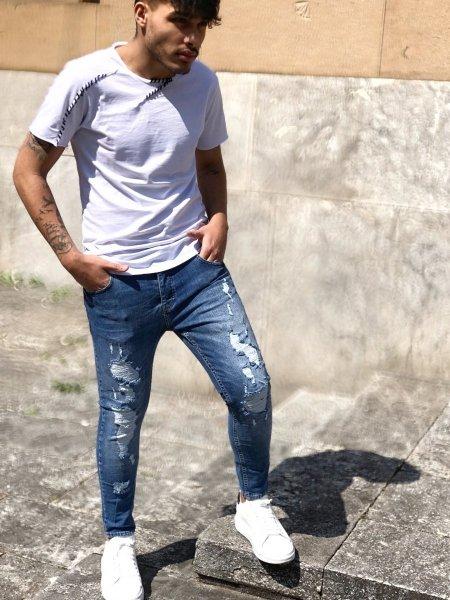 Jeans uomo - Abbigliamento uomo -Jeans skinny - Gogolfun.it