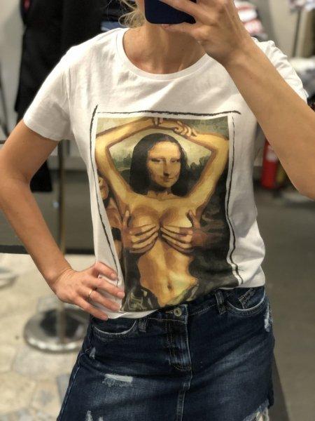 T shirt donna -  Monnalisa - Gogolfun.it