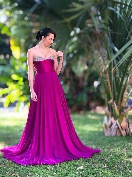 Vestito lungo elegante - Vendita online - Cerimonia - Gogolfun.it