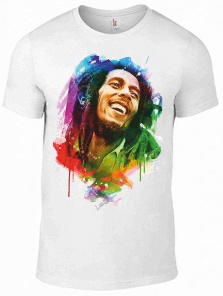 T shirt - Bob Marley -  Magliette Gogolfun.it