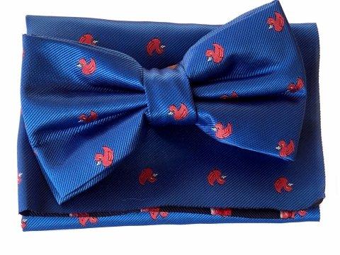 Papillon uomo con paperelle - Papillon blu - Accessori uomo - Gogolfun.it