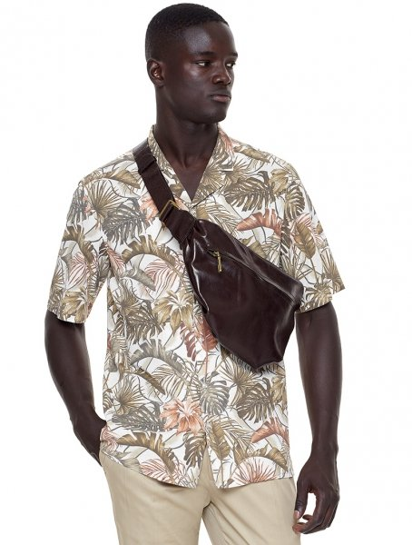 Camicia hawaiana - Mezza manica - Paul Miranda - Gogolfun.it