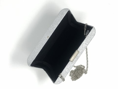 Pochette argento - Borsette online - Gogolfun.it