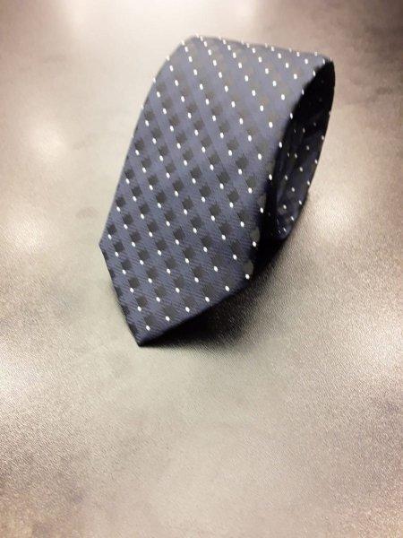 Cravatta uomo, blu con disegni - Cerimonia uomo - Gogolfun.it