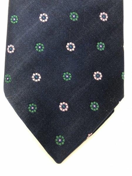 Cravatte uomo - Blu a fiori - Eleganti - Gogolfun.it