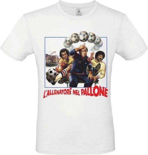 T shirt bianca - Uomo - Allenatore nel pallone - Gogolfun.it