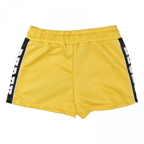 Pyrex pantaloncini corti gialli - Pantaloncini pyrex da ragazza - Gogolfun.it