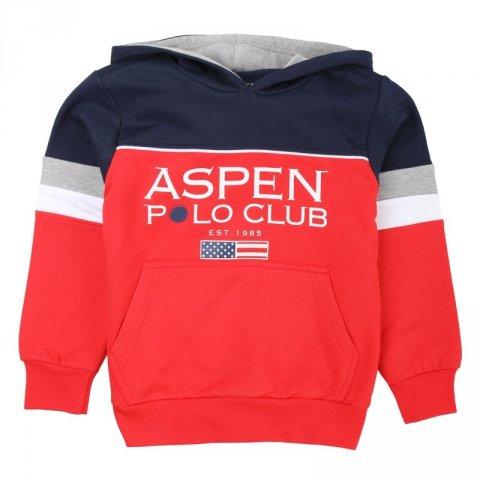 Felpa con cappuccio -  Aspen polo - Gogolfun.it