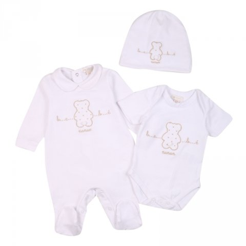 Completino neonato - Pagliacietto - Body - Cuffia - Negozio gogolfun.it