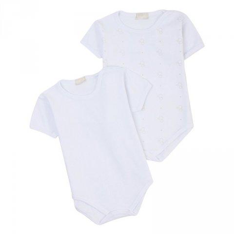 Lalalù - Body neonato, bianco - Abbigliamento bambini online - Gogolfun.it