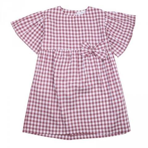 Abito fantasia quadri bambina - Kids Company - Abbigliamento bambini online - Gogolfun.it