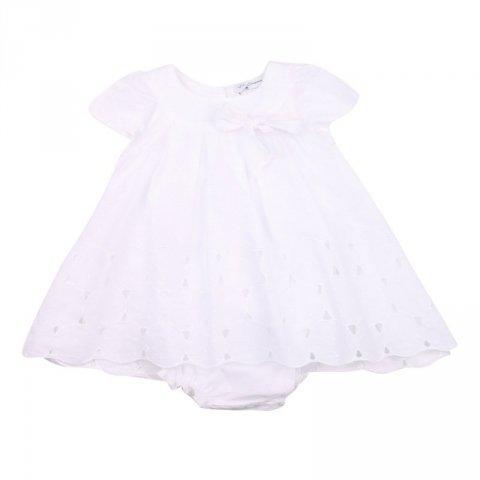Abito bambina, bianco - Kids Company - Abbigliamento bambini online - Gogolfun.it