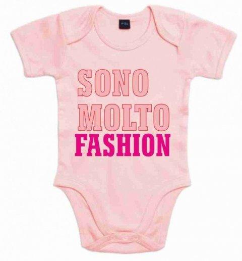 Body Rosa  - Neonata - Fashion - Gogolfun.it