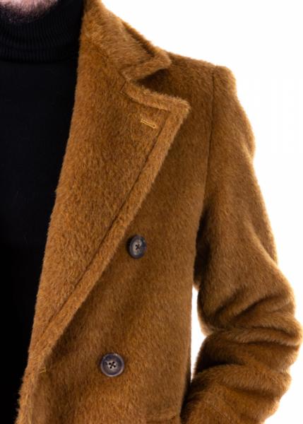 Cappotto cammello, Teddy - Doppiopetto