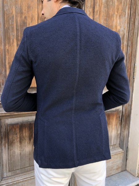 Giacca uomo blu - Paul Miranda - Made in Italy - Giacche online - Gogolfun.it