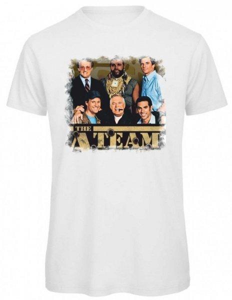 T shirt A Team - Bianca - Uomo - Gogolfun.it
