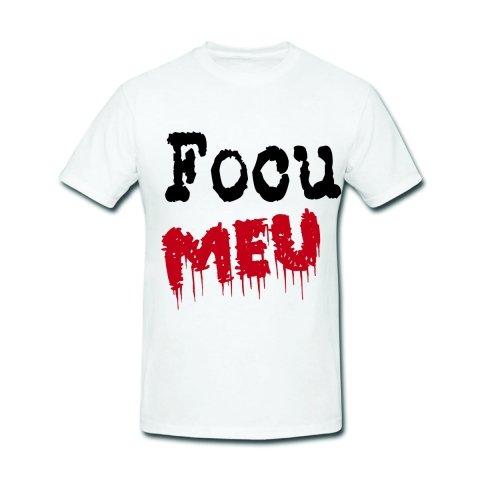 T shirt - Magliette divertenti - Focu meu - Abbigliamento Gogolfun.it
