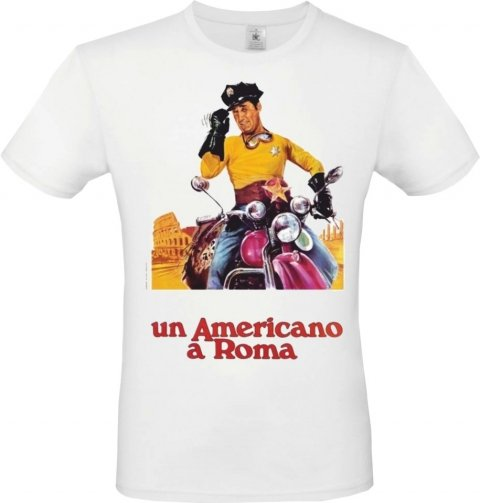 t shirt uomo - Alberto Sordi - Gogolfun.it