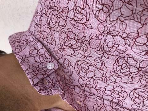 Camicia Maschile - Slim - Flor Pink - Negozio di abbigliamento Gogolfun.it