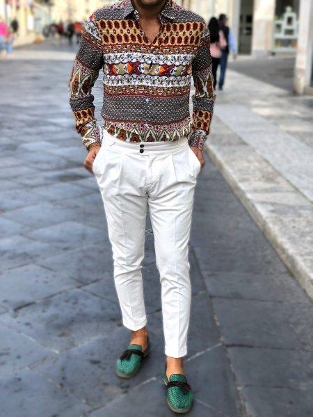 Pantaloni uomo, slim - Negozio di abbigliamento Gogolfun.it