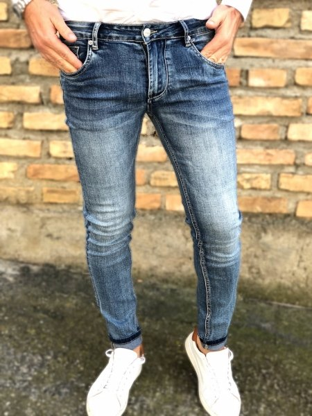 Jeans uomo, slim - Vestibilità Skinny - Gogolfun.it
