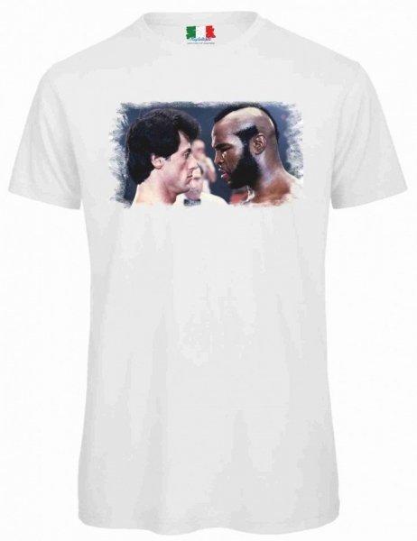 T shirt Bianca - Uomo -  Rocky -  Gogolfun.it