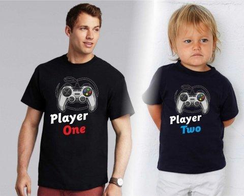 T shirt - Nere - Player - Gogolfun.it