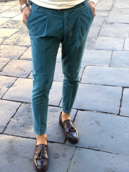 Pantaloni uomo - Pantaloni velluto uomo - Abbigliamento Paul Miranda - Abbigliamento online Gogolfun.it