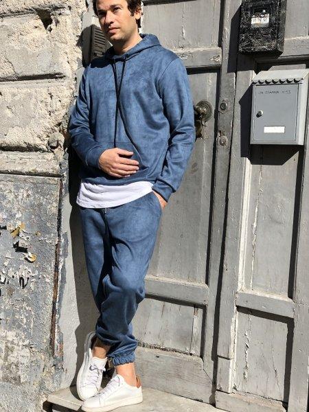 Tuta, unisex - Tuta, color jeans - Gogolfun.it