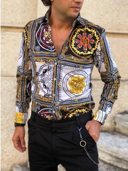Camicia uomo particolare, elegante - Gogolfun.it