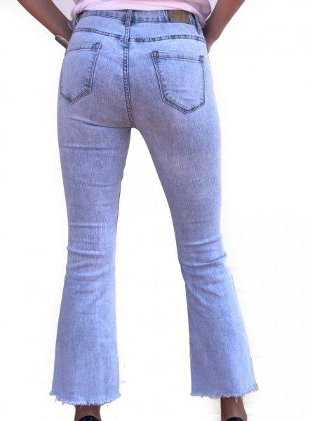 Jeans donna - Jeans donna a zampa - Jeans chiari