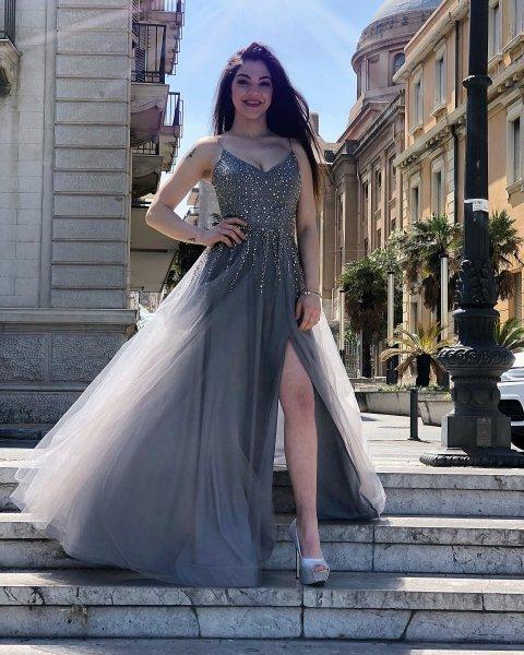 Abito donna elegante - Vestito cerimonia - Cerimonia - Gogolfun.it