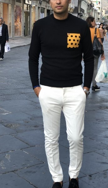 Paul Miranda - Pantaloni bianchi - Gogolfun.it