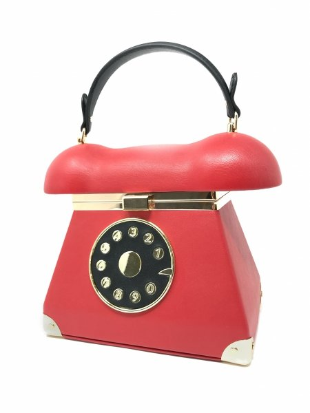 Borsa donna - Phone - Rossa - Gogolfun.it