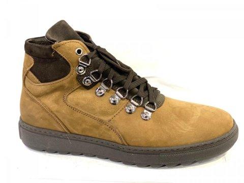 Scarpe uomo,  modello scarponcino vera pelle - Gogolfuin.it