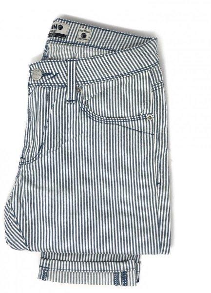 Jeans uomo bacchettato - Jeans cinque tasche a righe - Pantaloni gogolfun.it