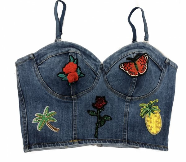 Croptop - Top donna - Jeans - Sotto giacca - Gogolfun.it
