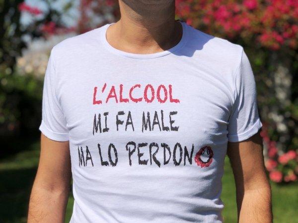 Tshirt - Simpatica - Alcool - Gogolfun.it